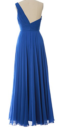 Party Zartrosa Women Shoulder Long Gown MACloth Bridesmaid One Dress Evening Wedding wBvqq0PUn