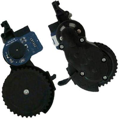 أجزاء مكنسة كهربائية - مكنسة كهربائية للمحرك الأيمن الأيسر لسيارة فيليدا VR302 مكنسة روبوت بديلة للمحرك (L)