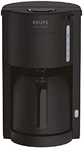 Krups KM303810 ProAroma térmica de filtro cafetera, color negro ...