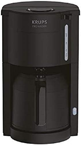 Krups KM303810 ProAroma térmica de filtro cafetera, color negro: Amazon.es: Hogar