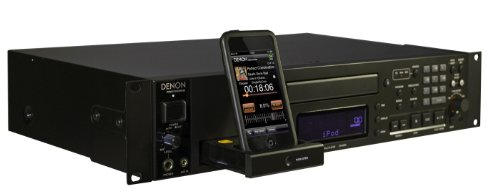 Denon Professional DN-500C CD Player with Integrated iPod Dock