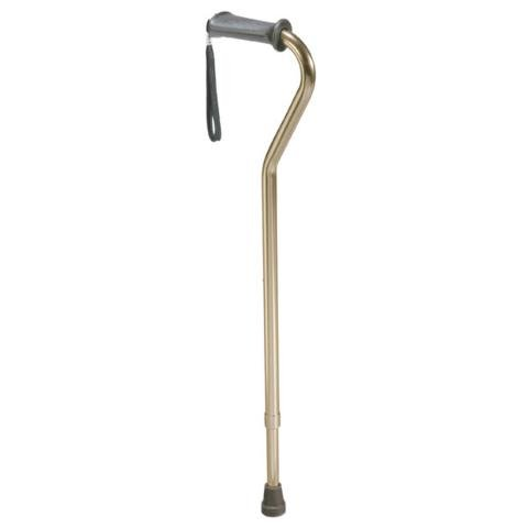 Rehab Ortho K Grip Offset Handle Cane With Wrist (Ortho Grip Offset Cane)