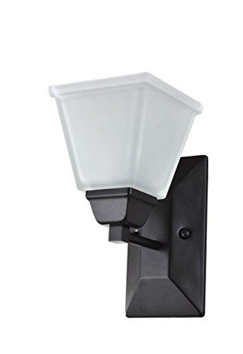 - IN HOME 1-Light Reversible Vanity Bathroom Fixture Oil Rubbed Bronze $79