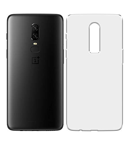 LUKS US Prints Protective Silicon Soft Transparent Back Cover for OnePlus 6  A6003 / A6000