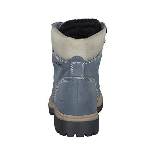 Botines 00270 5890101 Tom jeans Femme Tailor Bleu S7p4EwUq