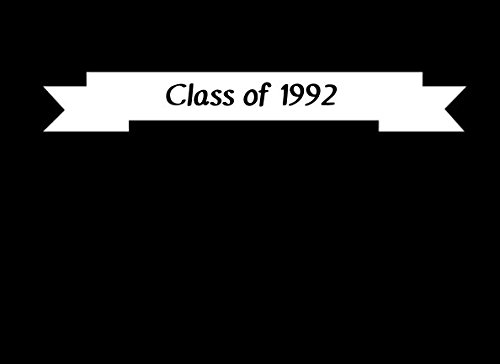 Download Class of 1992 (A Blank Lined Guest Book for Class Reunions) pdf
