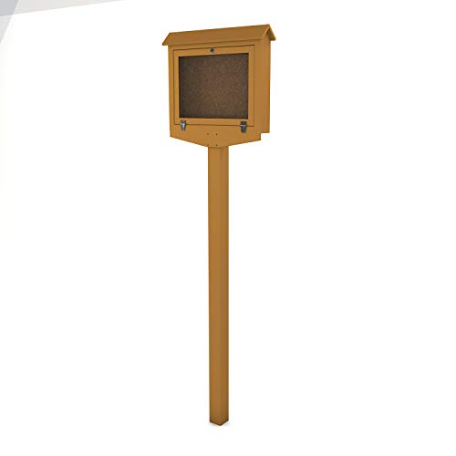 Frog Furnishings Hinged Message Center with One Side One Post, Small, - Pb Country Club