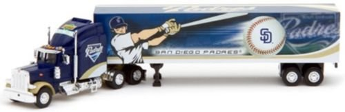2007 Upper Deck Collectibles MLB Peterbilt Tractor-Trailer - San Diego Padres ()