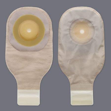 HOLLISTER Colostomy Pouch Premier One-Piece System 12'' Length 1-1/2'' Stoma Drainable (#8528, Sold Per Box)
