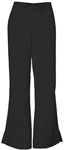 WorkWear 4101 Women's Low Rise Flare Scrub Pant Black 3X-Large