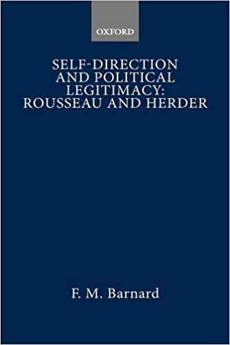 Self-direction and Political Legitimacy: Rousseau and Herder