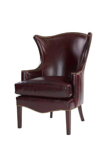 Leathercraft 1231-17 Durham Eldeberry Wing Chair