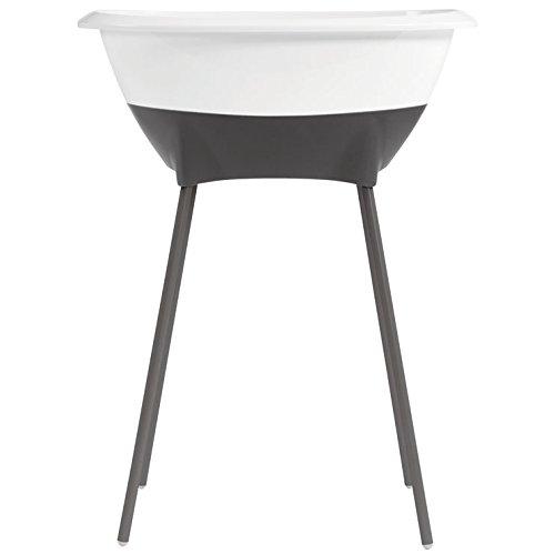 Luma - Baby Bath Tub with stand - Bathtub designed for a fun bath - Snow White