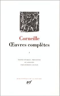La Pléiade - Oeuvres complètes 01 par Corneille