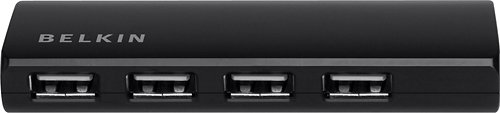 Belkin AC Powered Ultra-Slim Series 4-Port USB 2.0 Hub (F4U040v) by Belkin