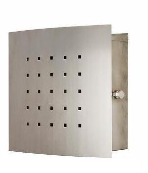 ポスト 郵便受け 壁掛け 壁付け 郵便ポスト ステンレス ティンブクー ステンレス モダン /鍵付き  鍵付き B0772S1D16