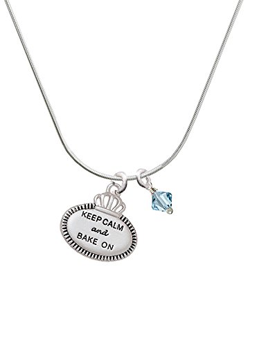keep-calm-and-bake-on-hot-blue-bicone-crystal-necklace
