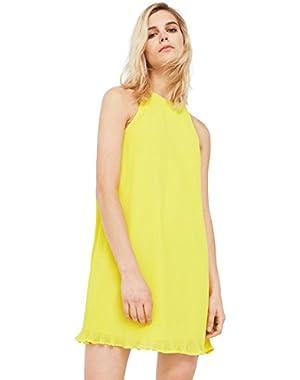 Mango Women's Pleated Dress