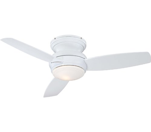 Minka Aire F593-WH Traditional Concept 44 in. Indoor Ceiling Fan – White, Appliances for Home