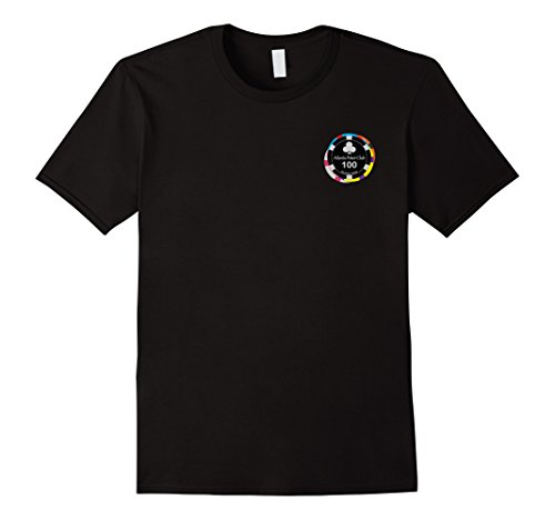 (Atlanta Poker Club Multi-Chip Small Logo T-Shirt)