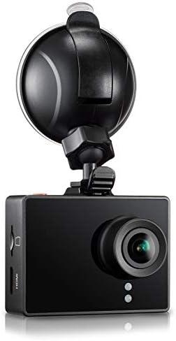 Spy Tec Traveler Dash Camera with Loop Recording, Black