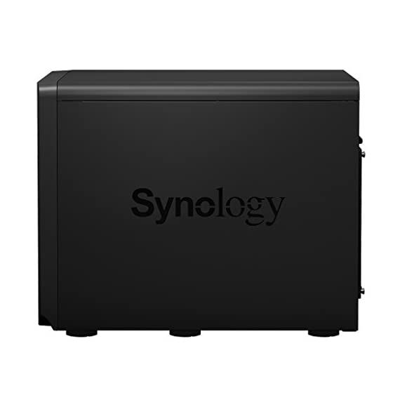 Synology 12bay Expansion Unit DX1215 (Diskless) 3 Plug-and-Use design for seamless storage space upgrade Online volume expansion SATA III 6Gb/s interface support