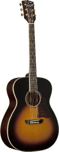 (Washburn USM-WSD5240STSK Warren Haynes Signature Series Acoustic Guitar, Tobacco Sunburst )