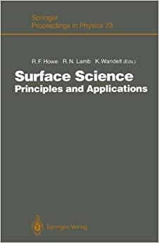 Book Surface Science: Principles and Applications (Springer Proceedings in Physics)