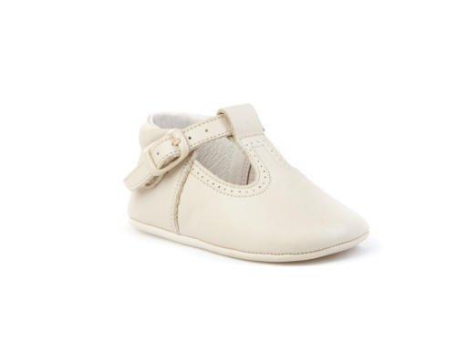 Patucos Pepitos para Bebé Todo Piel, mod.247. Calzado infantil Made in Spain, Garantia de calidad. Beige