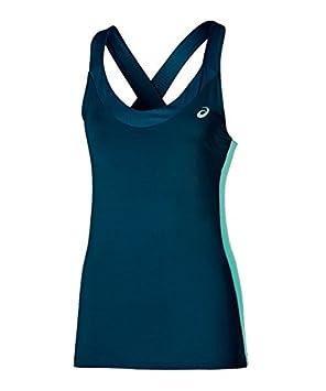 ASICS Camiseta Padel Tank Top Azul Marino: Amazon.es: Deportes y ...