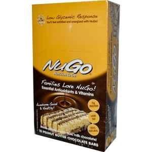 NUGO BEURRE D'ARACHIDE CHOCOLAT
