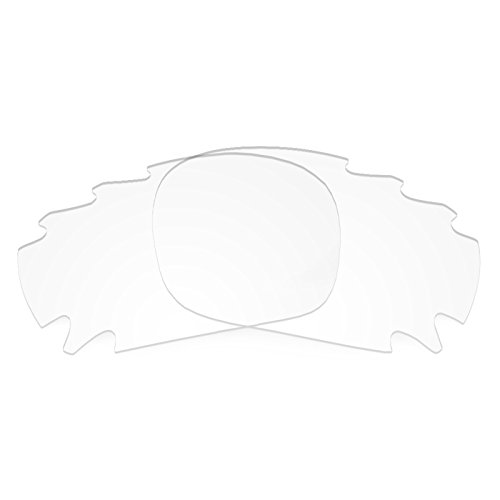 Revant Replacement Lenses for Oakley Racing Jacket Vented Crystal Clear