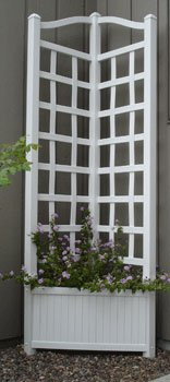 Sunburst Lattice Trellis - Dura-Trel 11175 Oxford Trellis