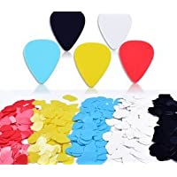Gespout 20Pcs Mixed Colour Guitar Picks Multi-Colours Style Plectrum for Bass,Electric,Acoustic Guitar,Ukulele Accessories