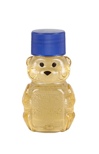 Bear Honey Jar (RETROPAK PB06W24RP Panel Bear, 2-Ounce, Clear… (Royal Blue))