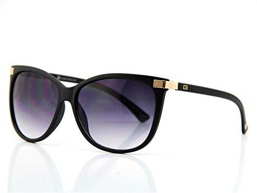 Vintage clásica Ojo Mate No2 de sol marca Venta mujer caliente sol gafas gafas Nueva de de de Negro de del UV400 Gato qTtwBw5