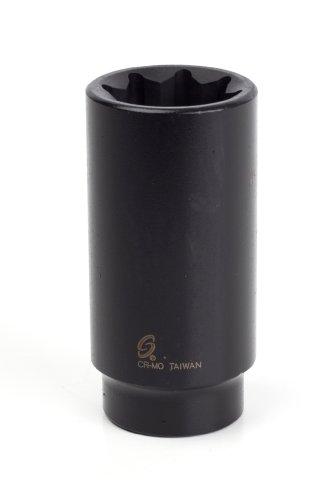 Sunex 232qd 1/2-Inch Drive 1-Inch 8-Point Deep Impact Socket