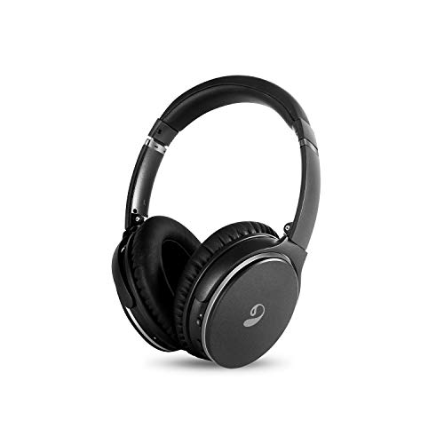 inOpera Audio A3 Active Noise Cancelling Bluetooth Headphones Wireless Over Ear Headphones with Microphone Hi-Fi Deep Bass ANC 20 Hour Playtime, Comfortable Protein Earpads for Travel Work TV PC Game