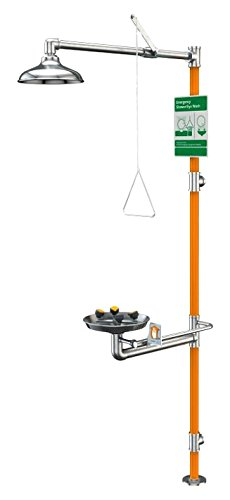 Guardian GBF1994 Stainless Steel/Teflon Safety Station, Barrier-Free, All-SS