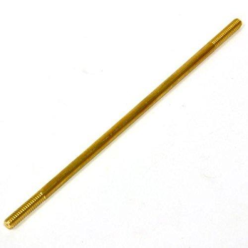 """Aluids C8021 1/4-20 male thread 6"""" long Toilet Tank Brass Float Rod"""