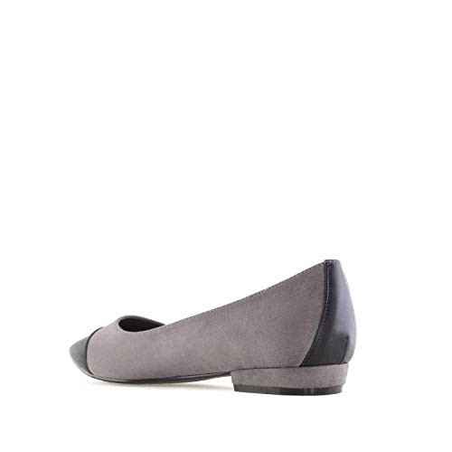 Cap Ballet Suede in Andres Toe Machado Sizes Large AM5298 Suede Flats Grey nxSF4Bw