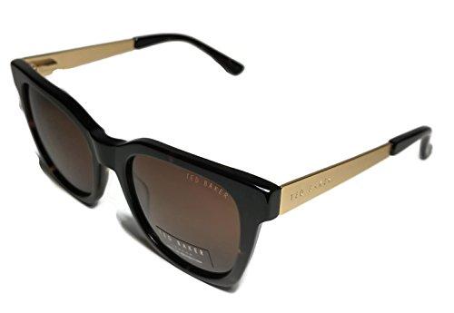 Ted Baker Womens TB669 Tortoise Brown Gold Wayfarer - Sunglasses Baker Ted