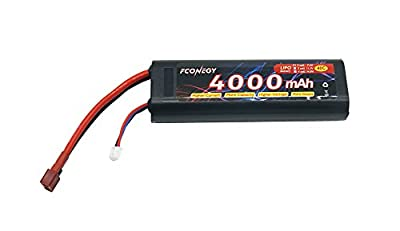 Fconegy Lipo Battery Pack with Deans Plug for RC Car RC Truck RC Hobby