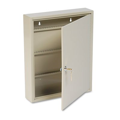 Uni-Tag Key Cabinet, 80-Key, Steel, Sand, 14 x 3 1/8 x 17 1/8, Sold as 1 Each by STEELMASTER