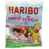 Haribo Happy Hoppers Gummy Candy 4oz (6-pack) world wide gourmet service 24 hour