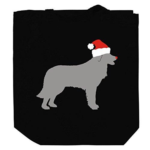 estrela-mountain-dog-christmas-canvas-tote-bag