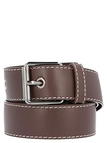 Marni Women's Cnmo0049q0la55300m83 Brown Leather Belt