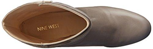 Nine West Einschüchtern Lederstiefel Grey/Grey