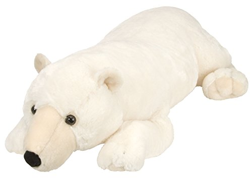 (Wild Republic Jumbo Polar Bear Plush, Giant Stuffed Animal, Plush Toy, Gifts for Kids, 30 Inches)
