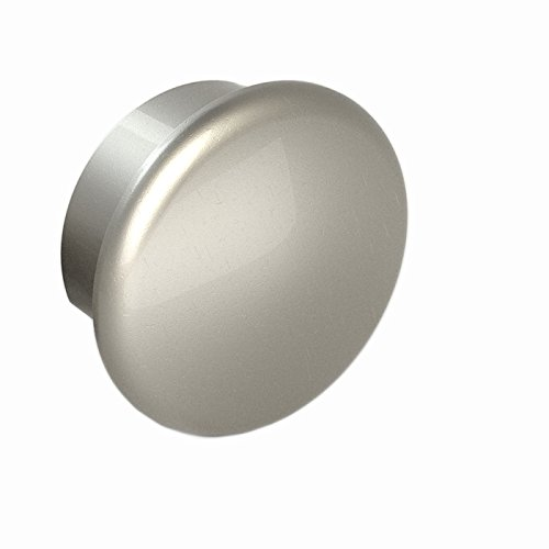 Handrail End Caps - End Cap, Matte Nickel Finish, Clip in Place with Set Screw, for Promenaid Handrail System Only
